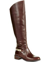 French Connection Yolanda Riding Boots - Lyst