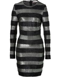 Matthew Williamson Striped Knit Dress - Lyst