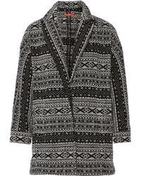 Alice + Olivia Axel Intarsia Knitted Jacket - Lyst