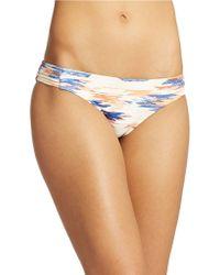 Ella Moss Printed Hipster Bikini Bottom - Lyst