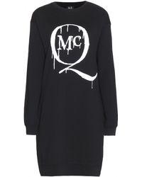 McQ by Alexander McQueen Printed Sweatshirt Dress - Lyst