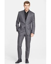 Versace Trim Fit Wool Suit - Lyst