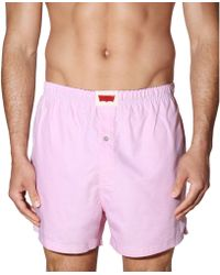Levi's Mens Woven Oxford Cloth Boxer Shorts - Lyst