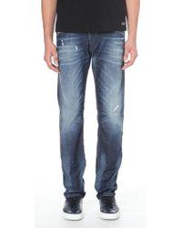 Diesel Belther Regular Slim-fit Tapered Jeans 32 - Lyst