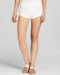 Mink Pink Mystic Spell Swim Cover Up Shorts - Lyst