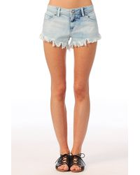 Volcom Short Chonies Denim Short - Lyst