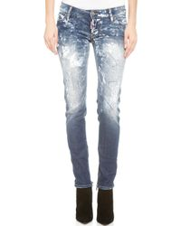 DSquared2 Skinny Jeans Blue - Lyst