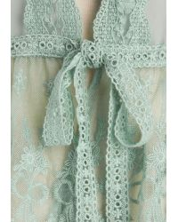 Areve | To Quiche Their Own Cardigan in Mint | Lyst