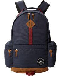 mens vans navy blue alpe dhuez backpack