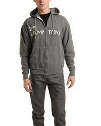 Blue&Cream Lamptons Hoody In Charcoal gray - Lyst