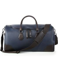 Dunhill Chassis Small Kit Bag blue - Lyst