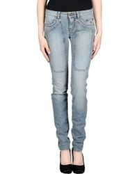 Jeckerson Denim Pants blue - Lyst