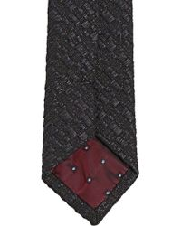 Lords & Fools - 6cm Cotton Blend Tapestry Tie - Lyst