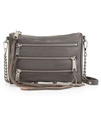 Rebecca Minkoff Fivezip Mini Crossbody Bag - Lyst