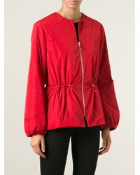 Moncler Gamme Rouge Collarless Padded Jacket - Lyst