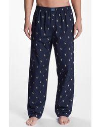 Polo Ralph Lauren Men'S Cotton Lounge Pants - Lyst