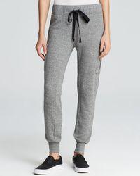 Current/Elliott Sweatpants  The Slim Vintage in Grey - Lyst