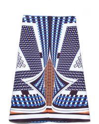 Clover Canyon Twist Scarf Neoprene Skirt - Lyst