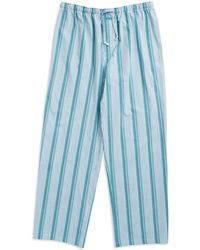 Calvin Klein Striped Sleep Pants - Lyst