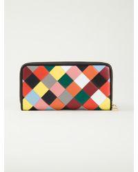 Loewe Zip Around Patchwork Wallet - Lyst
