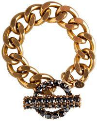 Camille K - Stella One Tone Bracelet - Lyst