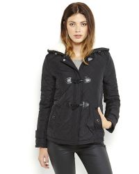 Kenneth Cole Reaction - Hooded Quilted Toggle Coat - Lyst