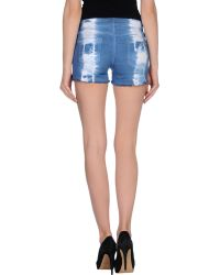 Isabel Marant Denim Shorts - Lyst