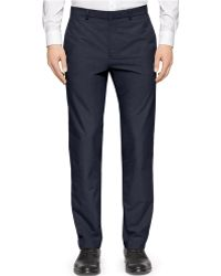 Calvin Klein High-Low End-On-End Suit Pants - Lyst