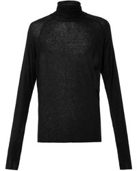 Haider Ackermann Sforza Fine Knit Sweater - Lyst