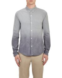 Band Of Outsiders Ombré Corduroy Shirt - Lyst