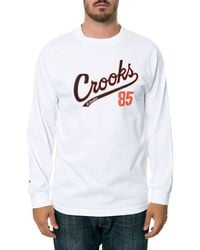 Crooks And Castles The Starter Ls Tee - Lyst