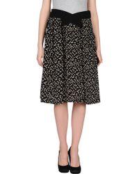 Balenciaga Knee Length Skirt - Lyst