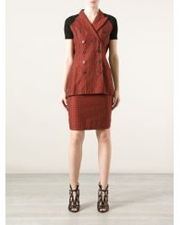 Jean Paul Gaultier - Double Breasted Skirt Suit - Lyst