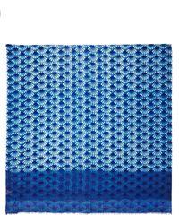 Becksondergaard Wool and Silk Fanolia Print Scarf - Lyst