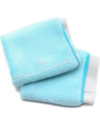 adidas By Stella McCartney - Tennis Wristbands - Sky Blue/Mint - Lyst
