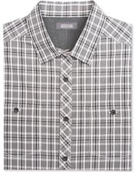 Kenneth Cole Reaction Pieced Placket Shirt - Lyst