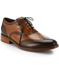 Cole Haan Preston Two-Tone Wingtip Oxfords - Lyst