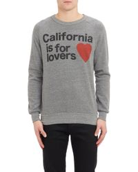 Aviator Nation California Is For Lovers-print Sweatshirt - Lyst
