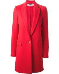 Stella McCartney Single Breasted Coat - Lyst