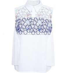 Peter Pilotto Bubble Embroidery Shirt - Lyst