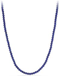 David Yurman Spiritual Bead Necklace, 5Mm - Lyst