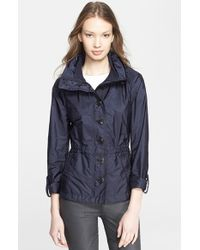 Burberry Brit 'Becksmarsh' Roll Sleeve Jacket - Lyst