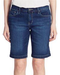 Calvin Klein Jeans Bermuda Denim Shorts - Lyst