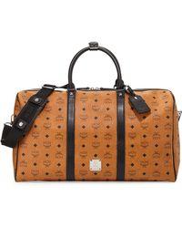 MCM   Color Visetos Large Weekender Bag   Lyst