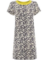 Dickins & Jones Floral Jacquard Dress - Lyst
