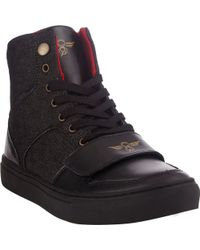 Creative Recreation Denim Cesario Hightop Sneakers - Lyst