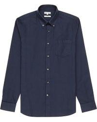 Reiss Ascot Buttondown Oxford Shirt - Lyst