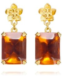 Tory Burch Cecily Drop Earring - Lyst