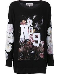 Wildfox England Collage Roadtrip Sweater - Lyst