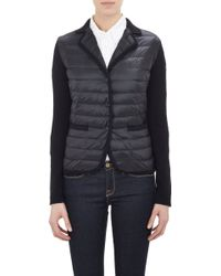 Moncler Combo Puffer Jacket - Lyst